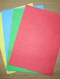 farebny papier