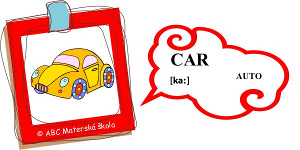angličtina auto