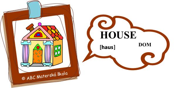 angličtina dom