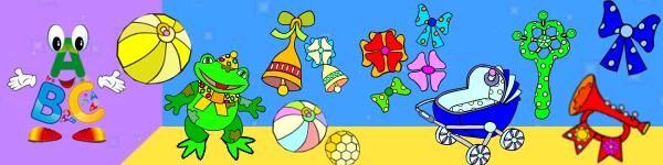hračky a predmety