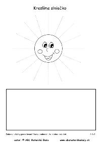 deň a noc slniečko