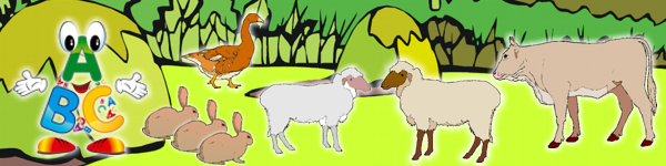 farma - dom�ce zvierat� a ich ml��at�
