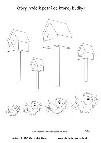 vtáčik a búdka