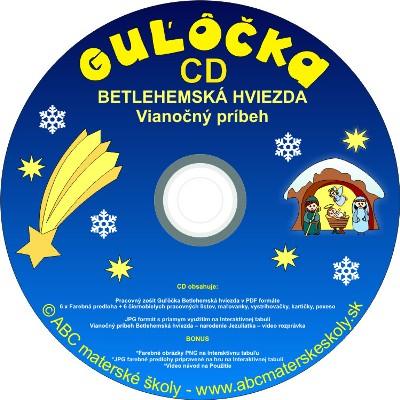 cd guľôčka betlehemska hviezda