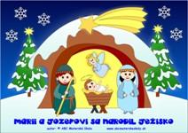 Mária, Jozef a Jezuliatko