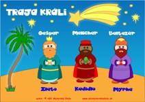 Traja králi Gašpar, Melichar a Baltazár