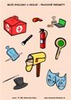 Moje bydlisko a okolie - Pracovné predmety - farebný pracovný list z ABC materská škola