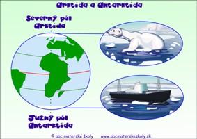 Severný a južný pól - Arktída a Antarktída