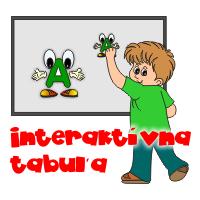 interaktívna tabuľa na abc
