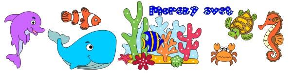 morský vodný svet