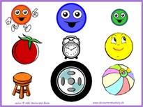 Geometrické tvary – kruh - pracovné listy na IT