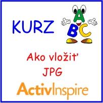 Video kurz AktivInspire - Ako vložiť JPG obrázok