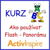 Video kurz AktivInspire - Ako používať Flash - Panorámu