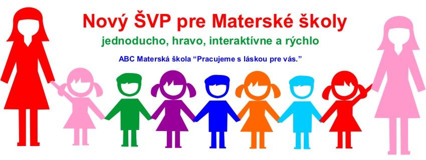 Nový ŠVP pre materské školy